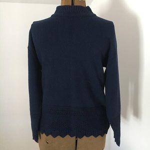 Vintage 70's Navy Everyday Knitwave Sweater